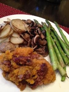 Julianne's Vegan Version of Dinner